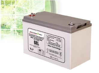 Solar Gel Battery 65Ah, 12V