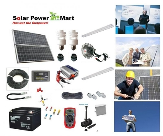 40W Solar Power Do It Yourself Professional Kit