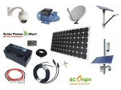 100W Professional Solar Power System Kit