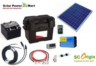 50 watt do it yourself solar power generator kit solutioingenieria Choice Image