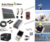 1,020 Watt Do it Yourself Solar Power Generator Kit