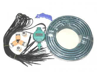 Irrigation Drip Soak Water DIY Kit for Garden 1800sqft