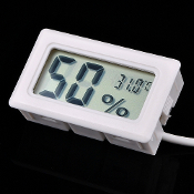 Mini Digital Thermometer & Hygrometer LCD Display