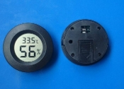 Round Digital Hygrometer Thermometer