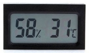 Square Digital Hygrometer Thermometer