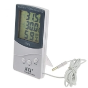 Digital Thermometer Hygrometer With LCD Display
