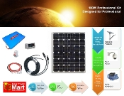100W Professional Solar Power System Kit With Lithium Battery