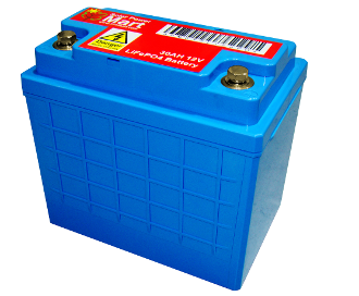 Lithium (LiFePO4) Battery 30Ah, 12V