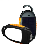 Solar Power Battery Bank With Camping Lantern