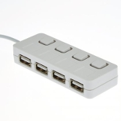 4 Port High Speed USB 2.0 480 Mbps