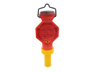Solar Barricade Warning Light
