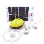 USB Oxygenator Air Pump With Solar Panel