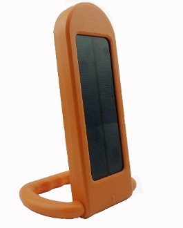 Solar Power Bank With LED Light