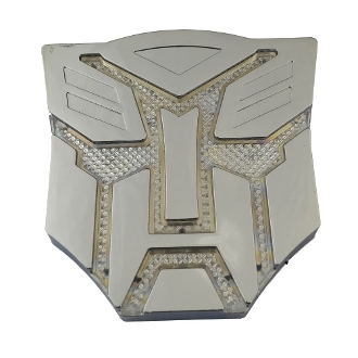Autobot Solar Light 3D Logo Badge