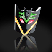 Decepticon Solar Light 3D Logo Badge
