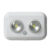 Twin LED Sensor Wall Light