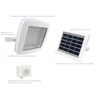 Solar Guardian 480X Security Flood Light