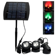 Multicolor Under Water Solar Spotlight Set of 3