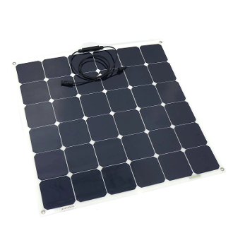 Solar Panel 50Wp Semi Flexible Sunpower Cells