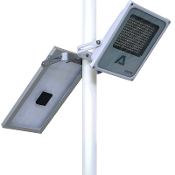 Alpha 1200X Solar Street Light