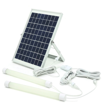Solar Power System - 10Wp PV With Built Lithium Battery & BMS