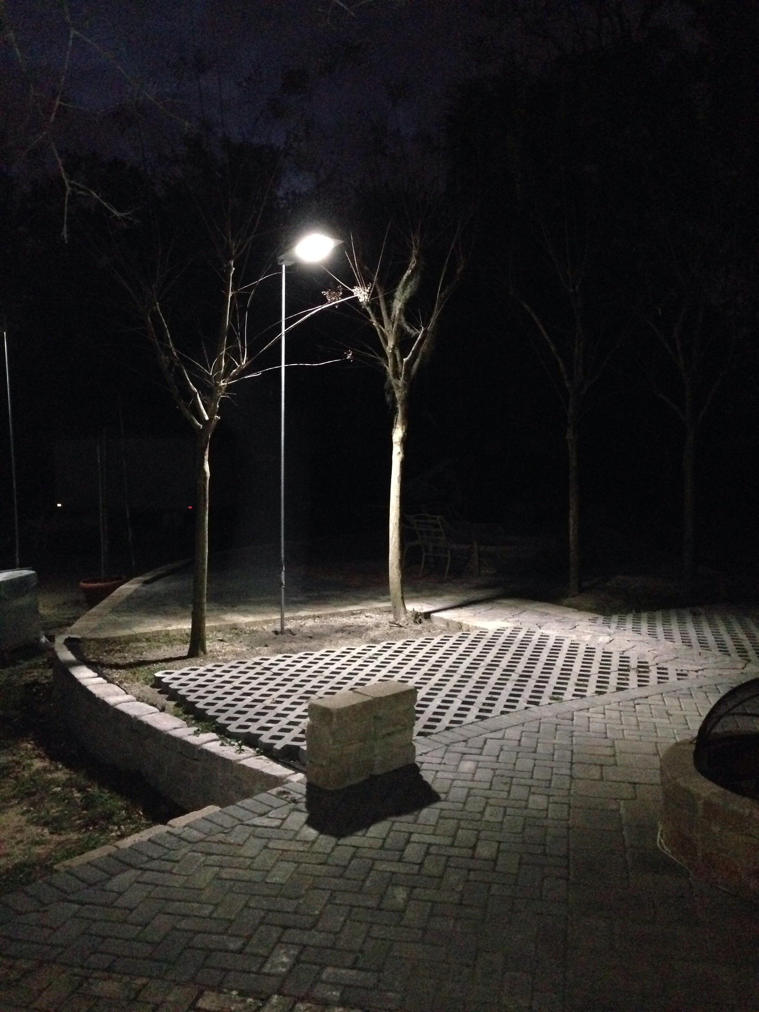 Solar Omega Street Light Park Lighting Security Compound Diagram Of Powered Led With Auto Intensity Control