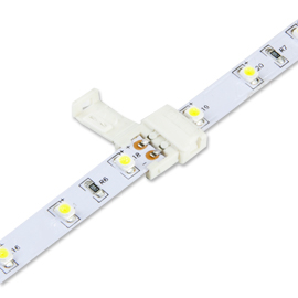 5050 LED Strip Light Connector - 10 Units Snap On Connector