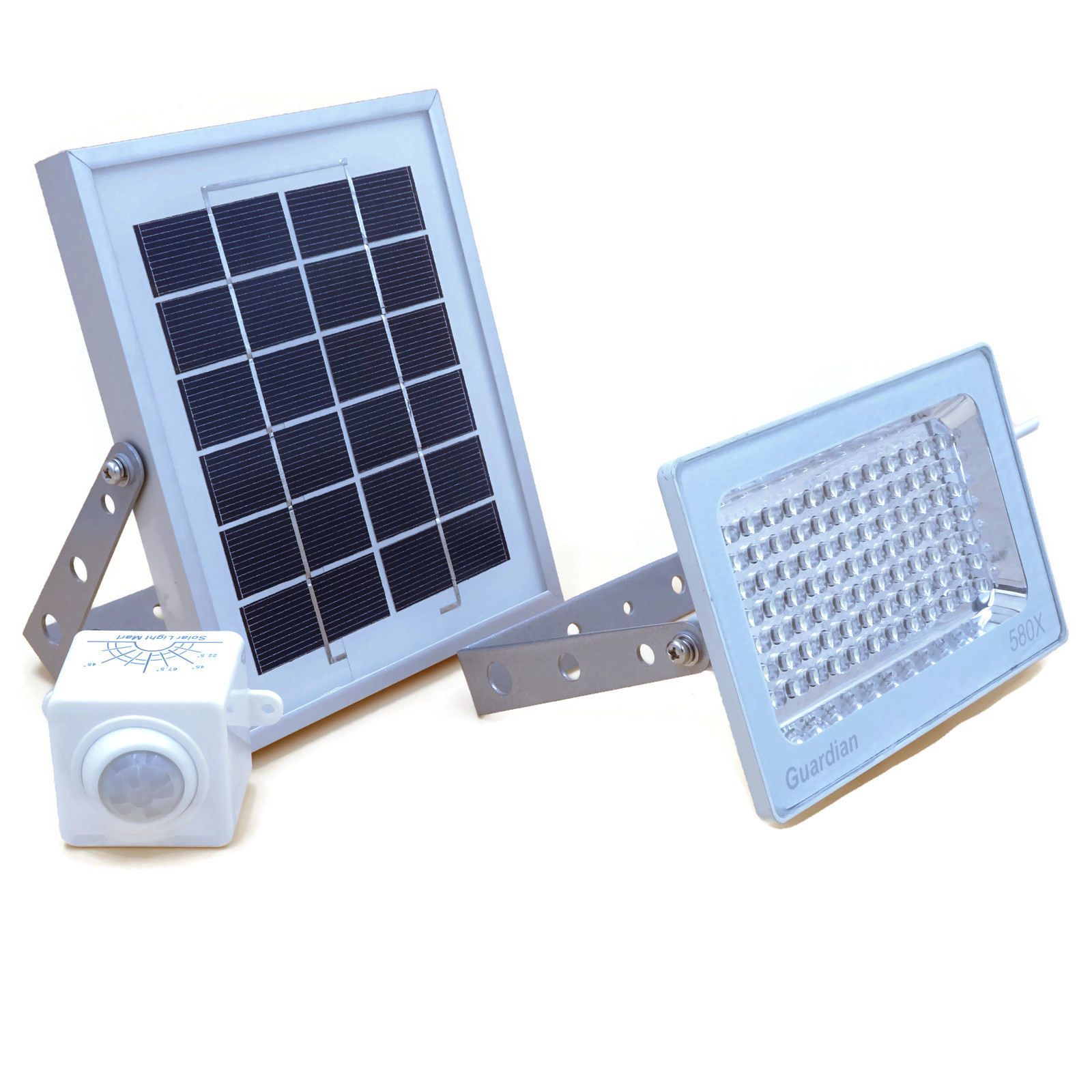 lighting solar security motion light lumens b sensing product with