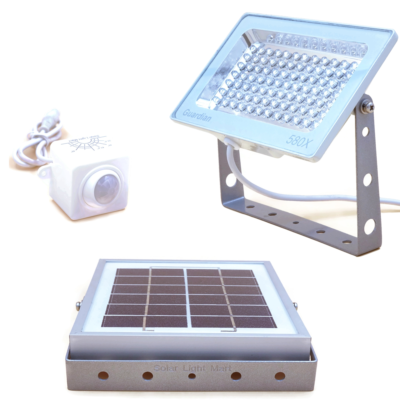 Solar Guardian Floodlight Park Lighting Security Light Compound Flood Wiring Instructions Installing A Remote Motion Detector The Costs Of Trenching And Underground Often Make Street System An Economically Feasible Lower Cost Option